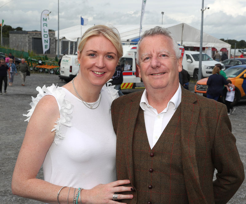 Gemma Jordan, General Manger and John Smalley Sales and Marketing Manager McWilliam Park Hotel, Claremorris at Claremorris 101st Agricultural Show 2019. Photo © Michael Donnelly