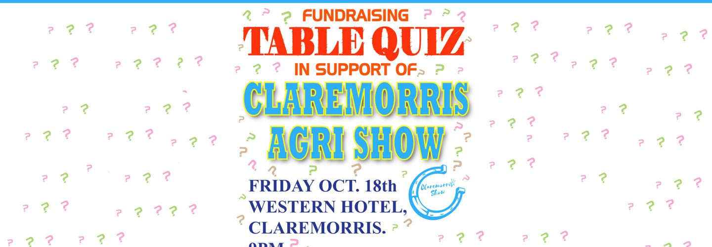 Annual fund raising Table Quiz